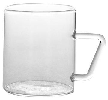 BOROSIL Vision Classic Espresso Tassen 120ml 6er Set | Spülmaschinenfest | Feuerfest | Bleibt Klar