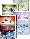 Nora Roberts Jahreszeiten-Zyklus 4er Set Frühlingsträume / Sommersehnsucht / Herbstmagie / Winterwunder