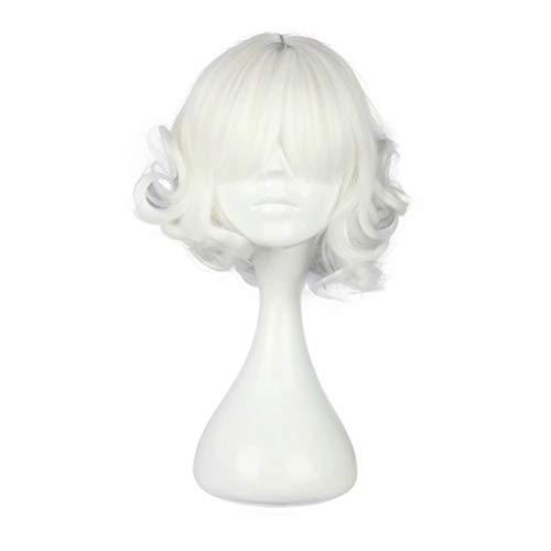 a Kurzes Haar Locken Spulen Tägliche Abnutzung Animation Fernsehserie Show Halloween Cosplay Kostüm Perücken für Frauen ()