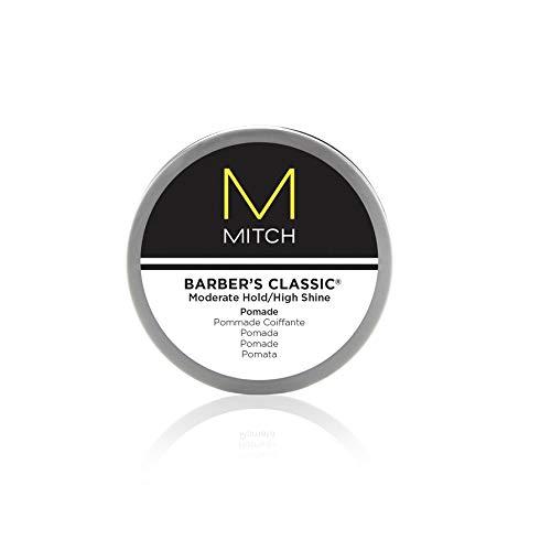 Barbers Classic - Haar-Pomade für Männer-Haare mit Glanz, Styling-Paste für leichten Halt, gebändigte Locken und Wet-Looks, 85 g - Haar-pomade Männer