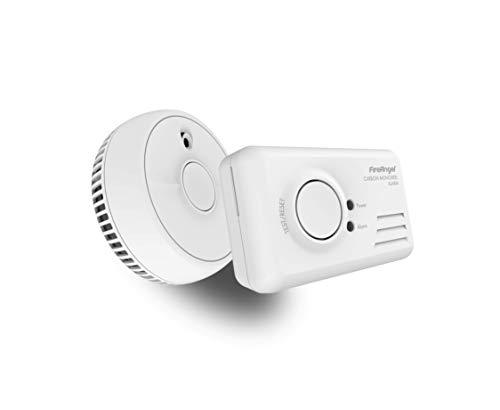 FireAngel 9b-sb1-tp-r Rauch und Co Alarm Twin, weiß Rauch-detektor