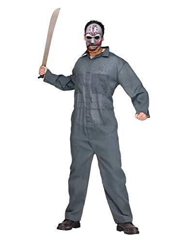 Horror-Shop Maskierter Killer Kostüm für Halloween ()