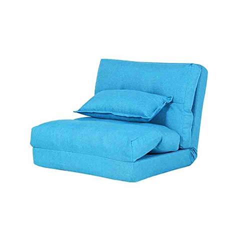 Möbelsets-LX Boden Stuhl, Stoff Freizeit Schlafsofa Folding einstellbare Spiel Stuhl Klappstuhl abnehmbar und waschbar