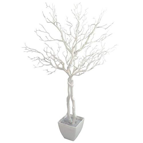 Leaf Foglia 95cm Bianco Albero Che desiderano Manzanita pianta Artificiale Deluxe