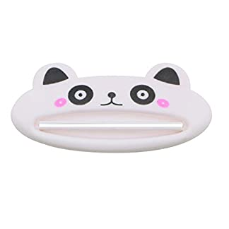 313RaMAZ0TL. SS324  - Luwu-Store 1 PCS Blanco Exprimidor de Pasta de Dientes Dibujos Animados Panda Plastico Limpiador Facial Pasta Dental Crema Exprimidor de Tubos Dispensador para Baño por SamGreatWorld