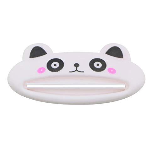 Generic 1 Stück Weiß Zahnpasta Quetscher Karikatur Panda Kunststoff Gesichtsreiniger Zahnpasta Sahne Tube Squeezer Spender für Badezimmer von SamGreatWorld