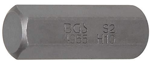 BGS 4955 | Bit | 10 mm (3/8) Drive | internal Hexagon 10 mm