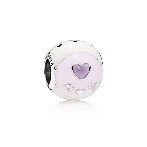 Pandora Moments Charm Liebe Mama Sterling Silber, Emaille 797057ENMX