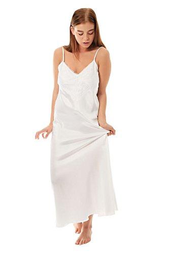 Camicia da notte da donna White