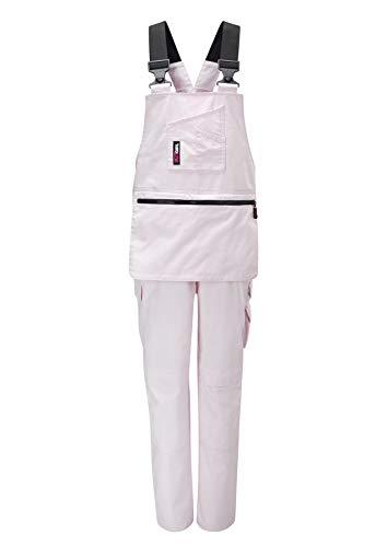 Workkitgirl Damen Arbeitshose Rosa Pink (Bib Overalls Pink)