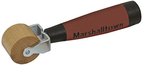 """Marshalltown E98D 1"""" Flache Ahorn Nahtwalze-DuraSoft Griff"""