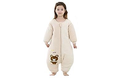Vine Bebé Saco de dormir Con separado los pies Mangas desmontables 2.5 Tog