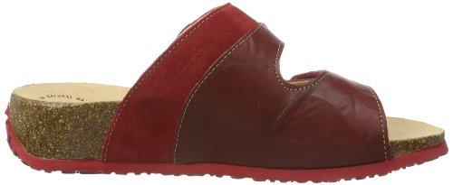 Think! Mizzi, Chaussures de Claquettes femme Rouge - Rot (ROSSO/KOMBI 72)