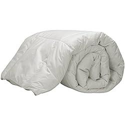 Pikolin Home RP200 - Relleno nórdico de plumón de oca 92%, 100% algodón, 250 gr/m2, 220 x 240 cm, cama 150 cm