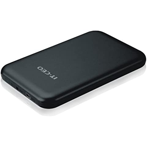 Allcam USB 2.0, de 2.5 pulgadas SATA de disco duro portátil USB 2.0 de caja compatible SATA-II, montaje sin necesidad de herramientas
