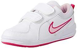 Nike Pico 4 (PSV) Scarpe da ginnastica, Unisex - Bambini, Multicolore (Bianco/Rosa), 34 EU