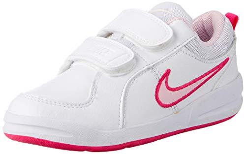 Nike pico 4 (psv) scarpe da ginnastica, unisex - bambini, multicolore (bianco/rosa), 31 eu