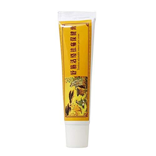 Healifty 1 stück Chinesische Shaolin Analgetische Creme Moschus-Balsam-salbe für Rheumatoide Arthritis Zurück Schmerzlinderung