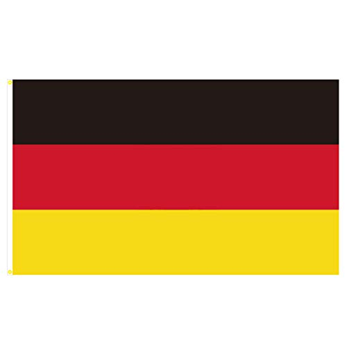 BGFint Deutschland Flagge Fahne 150x90cm Stoff 100g/qm