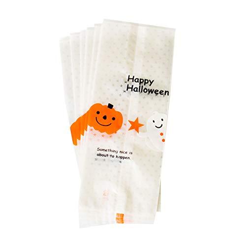 Xiton 50Pcs Halloween löschen Plätzchen Taschen Candy