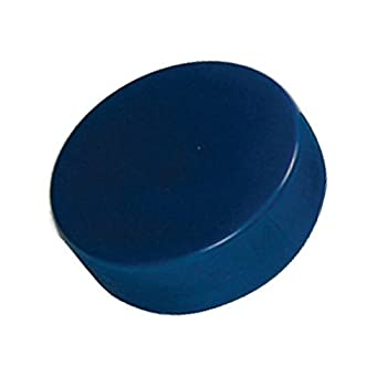 A R Ice Hockey Puck Blue...