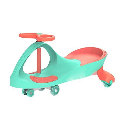 Yyqt Balanceando la torcedura de Coches, oscilación del Coche de los niños en el Scooter, Apto for...