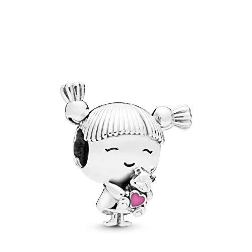 Pandora Damen Moments kleines Mädchen Charm Sterling Silber, Emaille 798016EN160