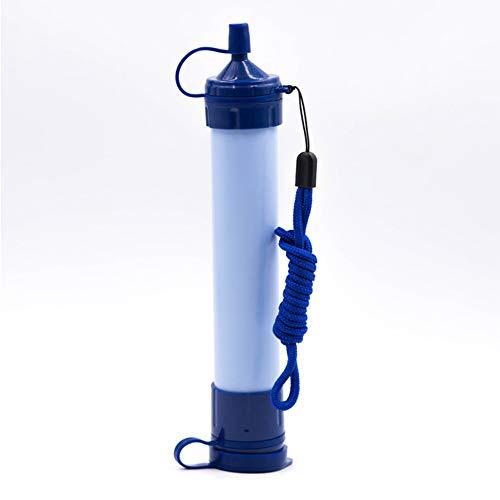 WBaRJ Filtre à Eau Personnel portatif, Paille de Filtration d'eau Potable de Secours pour la randonnée campant de Voyage d'urgence de Survie