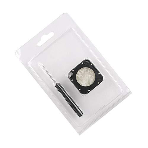 Zhuhaixmy Objektiv Metall Rahmen Ersetzen Kits - Ersatz Objektiv Glas Decken Kits mit Schraube Zubehör für GoPro Hero 5/4 Session Aktion Kamera