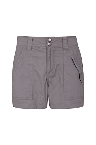 Mountain Warehouse Coast Womens Shorty Shorts - Lightweight Ladies Summer Pants, Breathable, Pockets, Stretchable Trousers - for Travelling, Walking, Camping & Everday