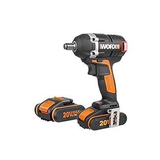 WORX WX279 – Llave de impacto Brushless 20v 2.0Ah 2 bat
