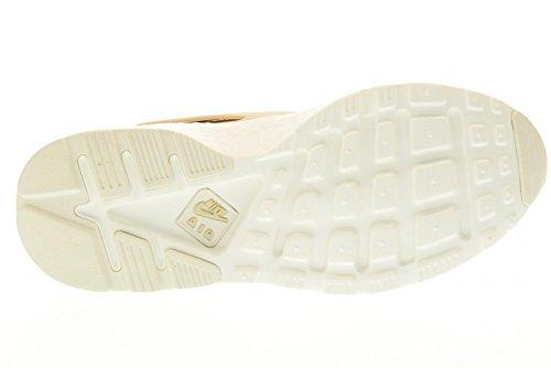 NIKE scarpe donna sneakers basse 881100 100 WMNS AIR HUARACHE RUN PRM Beige