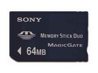 Msh-adapter (Sony MSH-M64N Memory-Stick Duo 64 MB (ohne Adapter))
