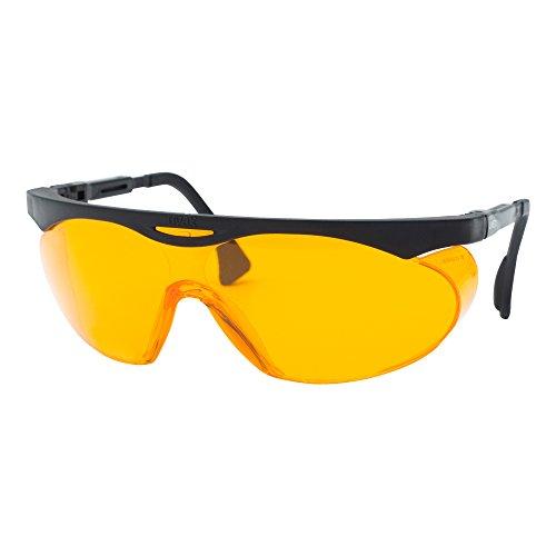 Uvex S1933x Skyper Safety Eyewear Black Frame sctorange UV Extreme anti-fog Lens