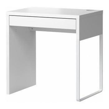 Eckschreibtisch ikea  Amazon.de: IKEA MICKE Schreibtisch in weiß; (73x50cm)