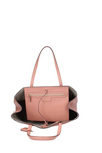 Borse a Mano Anya Hindmarch ebury smiley Donna - Pelle (EBURYSHOPPERSMILEY) Rosa