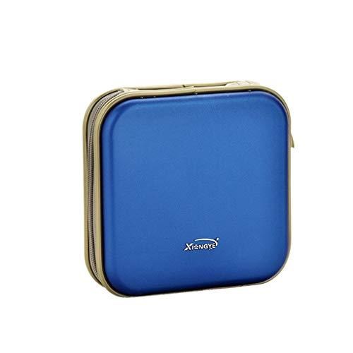 Geformte 40 Kapazität CD/DVD/VCD-Kasten-Speicher-Organisator-Fall Disc-Halter-Mappen Censhaorme