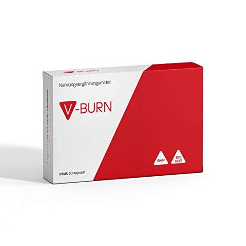 V-BURN – Endlich Abnehmen – 30 hochdosierte Kapseln – Hergestellt in Deutschland