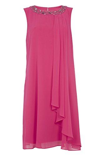 Roman Originals Women's Embellished Chiffon Dress