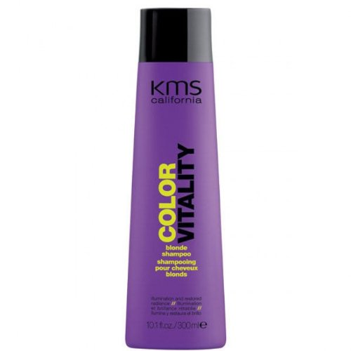 KMS- California ColorVitality Blonde- Shampoo, für blondes Haar, 300 ml
