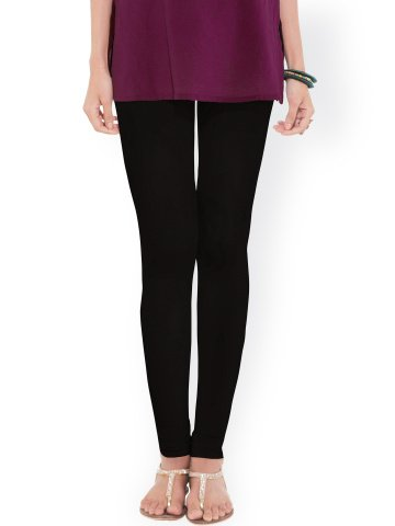 Black Leggings 95% Cotton 5% Lycra Medium