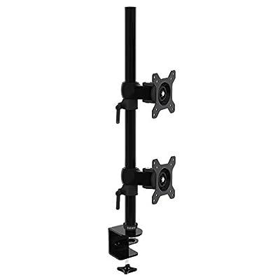 Duronic DM35V2X1 Support Vertical pour Deux écrans d'ordinateur LCD/LED par Duronic - Supports