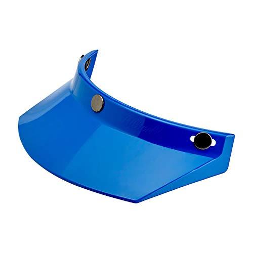 GZM FRONTINO Parasole BILTWELL Moto Visor Blu Blue X Casco CASCHI con 3 Bottoni BILTWELL DMD Bandit YAM AFX TORX
