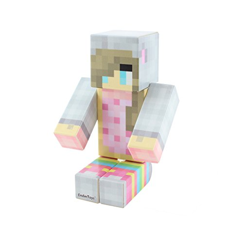 Nyan Girl Pixelaction Figure by EnderToys - un Giocattolo di Plastica