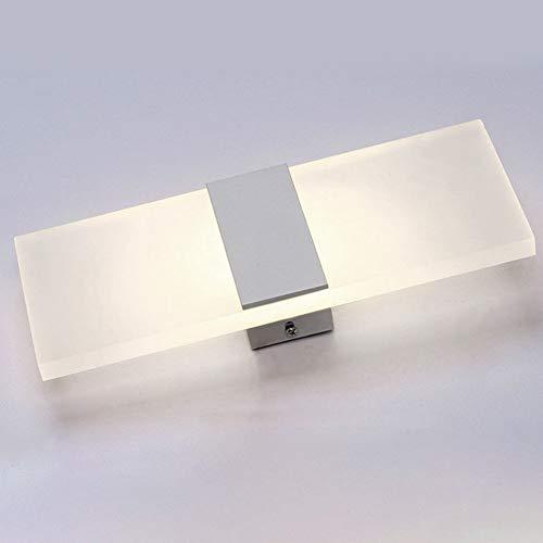 Luz de Pared LED, Moderno Acrílico Aplique - Entrada Luz Lámpara de Noche Fondo Decorativo Luces ...