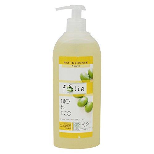 FOLIA - Detersivo Liquido Piatti Biologico - Sgrassa e Deterge...