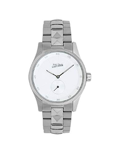 Jean-Paul Gaultier - Reloj de Pulsera para Mujer, Color Plateado