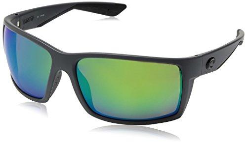 Costa Plastic Frame Green Mirror Lens Unisex Sunglasses RFT98OGMP
