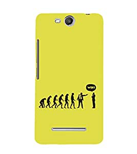 EPICCASE evolution collapse Mobile Back Case Cover For Micromax Canvas Juice 3 Q392 (Designer Case)