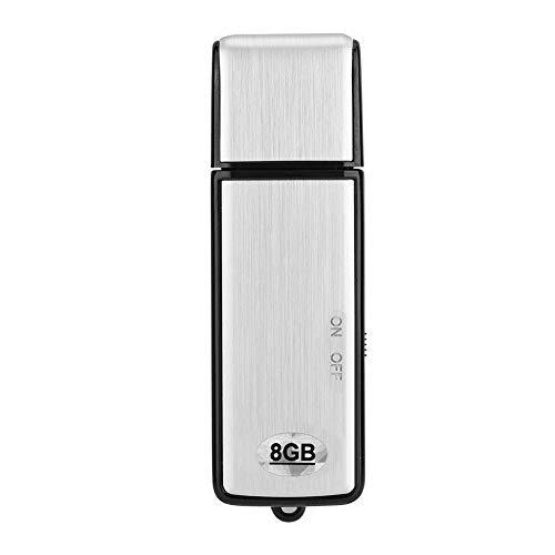 Zerone Mini de USB Grabador de Voz, 20Horas de Tiempo de batería 8GB...